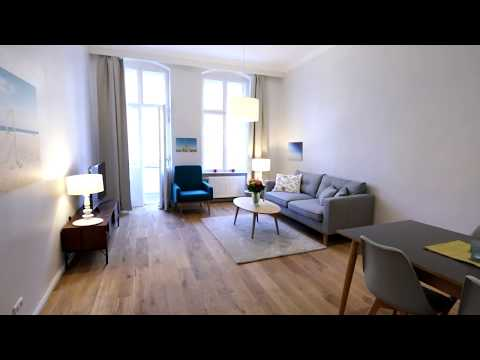 3-Room Furnished Apartment with 2 Bedrooms and Balcony in Berlin, Malmöer Str.
