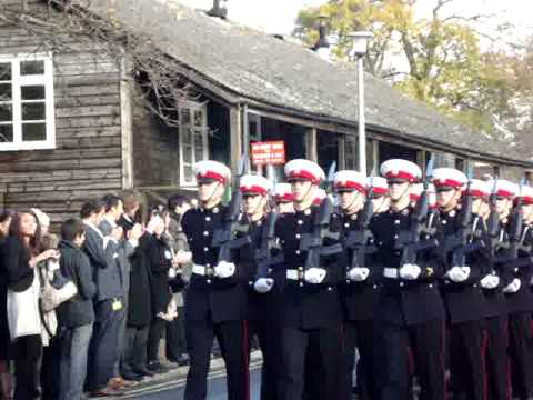 108 troop royal marines commando kings squad passing out youtube - Royal marines recruitment office ...