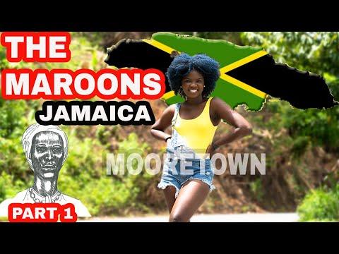 THE MAROONS JAMAICA  | MOORETOWN  | NANNY FALLS