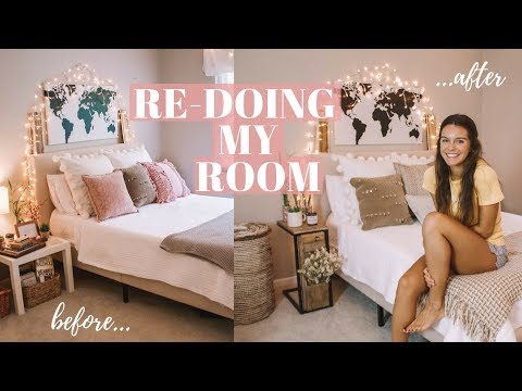 Re-Doing My Room! | 2018