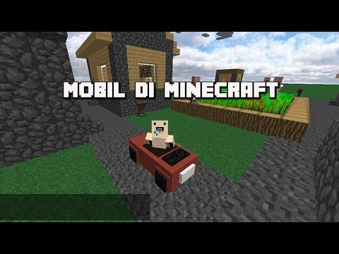Minecraft Tutorial - cara membuat mobil bisa bergerak