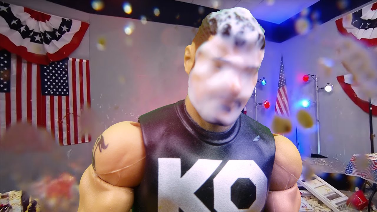 Who threw the pie at Kevin Owens?