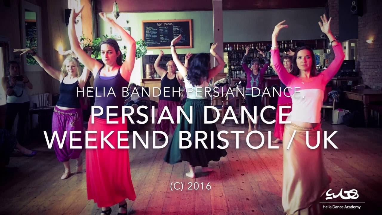 Persian dance workshop in Bristol by Helia bandeh کارگاه رقص ایرانی بریستل انگلیس توسط هلیا بنده