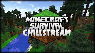 Minecraft Survival Chillstream | Gathering Resources For My Wood Fortress! [Stream Replay]
