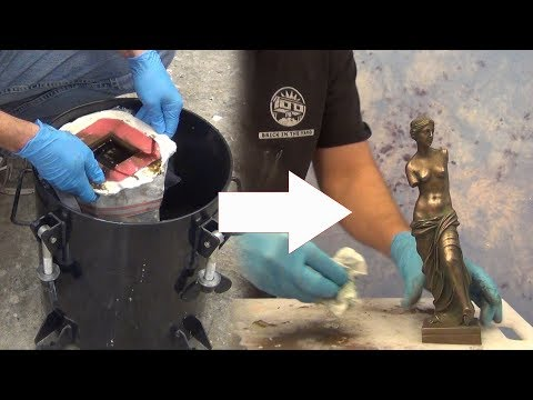 Resin Casting Tutorial: Cold Cast Bronze Dusting Method