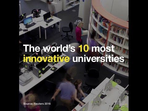 These are the most innovative universities in the world