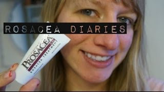 Rosacea Diaries: Struggling with rosacea and acne! | Prosacea and Cetaphil week 1 & 2