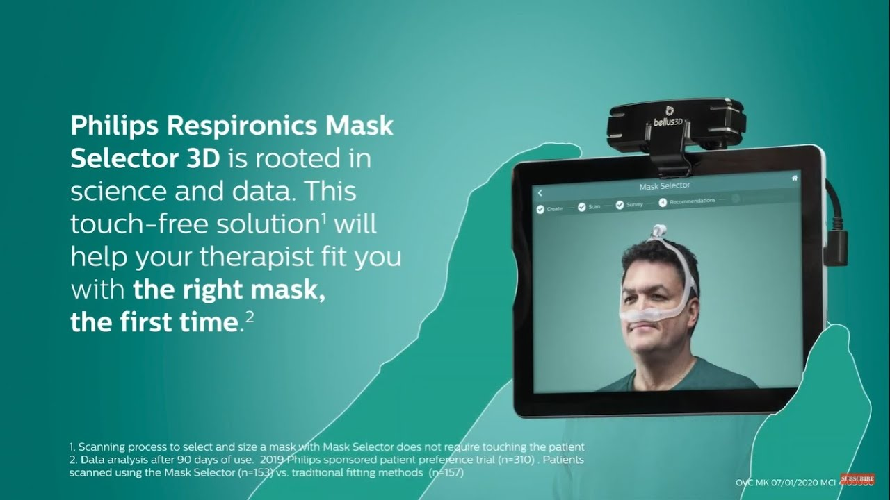 Philips Respironics Mask Selector 3D: What to expect - YouTube
