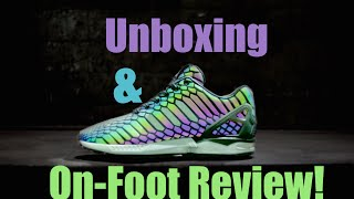 Adidas ZX Flux XENO Unboxing & On-Foot Review!