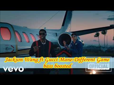 Jackson Wang(Got7) ft Gucci Mane-Different Game bass boosted