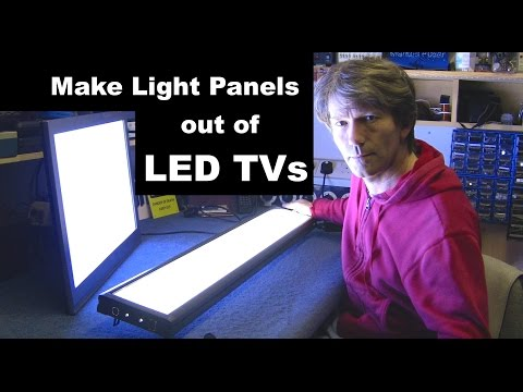 Make A Super Bright Light Box From LED TV For Photography And Filming #42