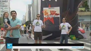 البرازيل: اتساع الاحتجاجات المطالبة بعزل رئيسة البلاد