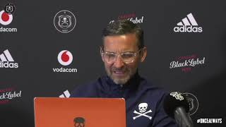 Orlando Pirates | 2020/21 #DStvPrem​ | vs Black Leopards | Post Match Press Conference