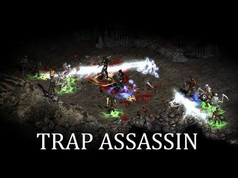 Diablo 2 - Моя МФ Трапсинка (Trap Assassin) - Билд / Гайд (скиллы, шмот и т.д.)