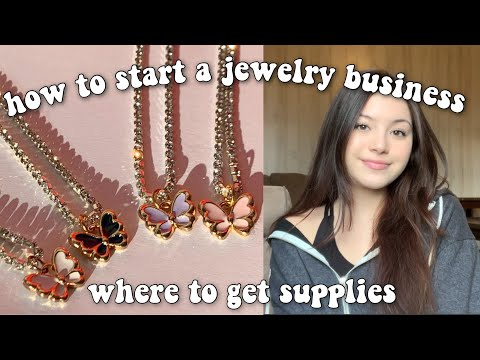 How To Start A Jewelry Business | How I Started My Business