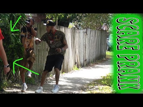 EPIC 3 BUSHMAN SCARE PRANK - With @fredspecialtelevision in Tampa Bay Florida