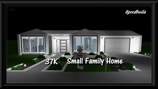 37K Small Family Home | Roblox Bloxburg |