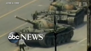 Protester remembers Tiananmen Square massacre 30 years later