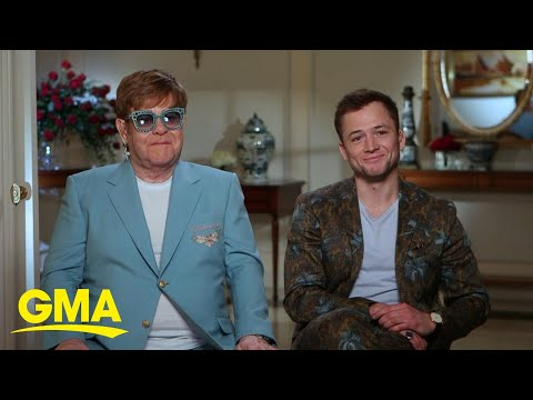 Elton John reveals emotional message behind &39;Rocketman&39; film  GMA