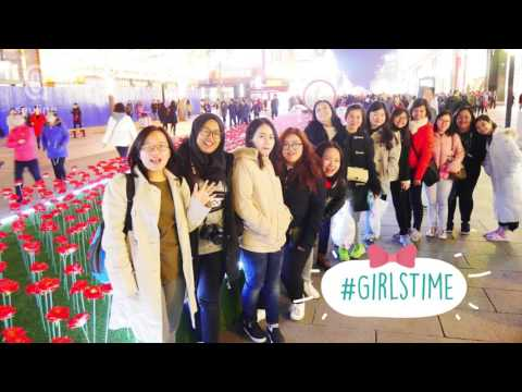 Penerima Squline Scholarship Program ke BLCC, Beijing, Maret 2017
