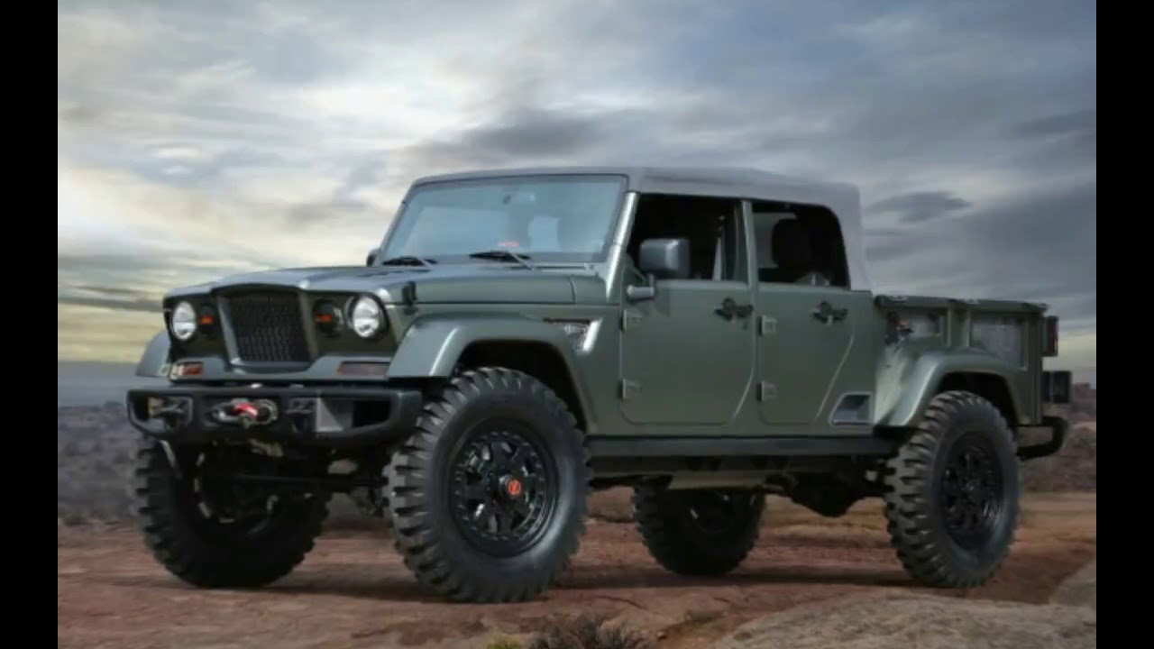 2018 Jeep Gladiator Pickup Price And Release Date