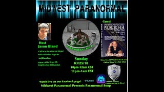 Paranormal Soup Ep 129 guest Psychic Profiler Robbie Thomas