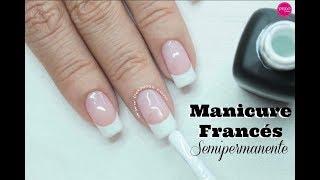 Francés semipermanente para principiantes - Gel polish french Manicure