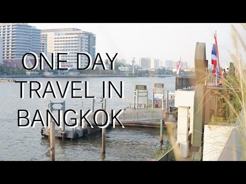 One Day Travel in Bangkok | Chao Phraya Express Boat