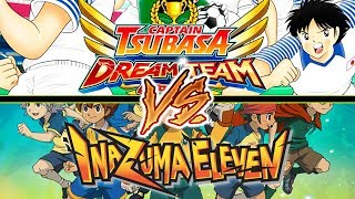INAZUMA ELEVEN o HOLLY E BENJI? Miglior gioco di calcio per Smatphone CAPTAIN TSUBASA DREAM TEAM ITA