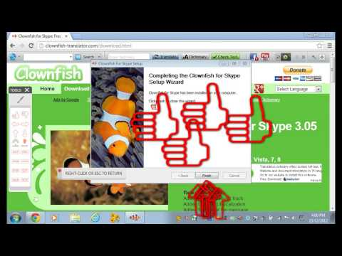 How To Download Clownfish For Skype