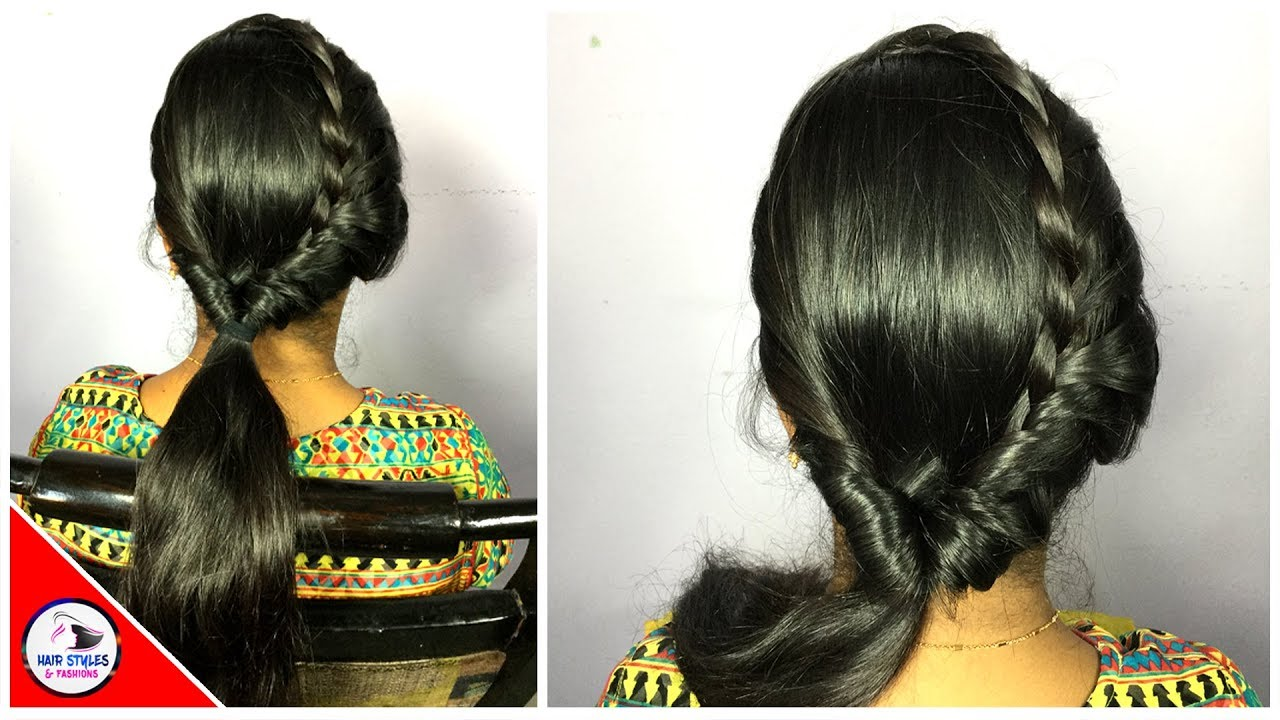 south indian bridal hairstyle | tamilnadu bridal hairstyle | hair styles & fashions