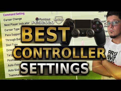 PES 2020 BEST Contoller Settings For Online | PS4