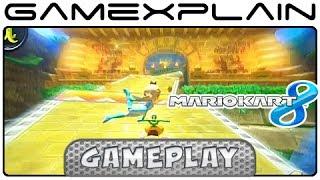 Mario Kart 8: DK Jungle 3DS Gameplay w/ Direct Audio (Retro Track)
