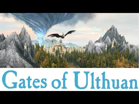 The Gates of Ulthuan Total War: Warhammer 2