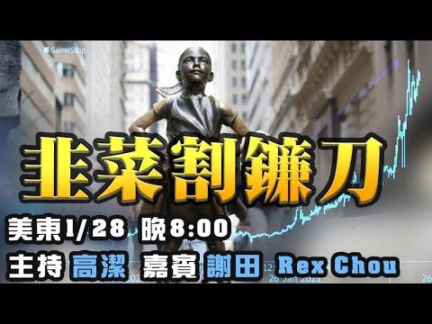 散户赌赢华尔街? 嘉宾:谢田 Rex Chou 主持:高洁【希望之声TV】(2021/01/28)