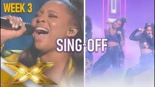 Gambar cover V5 vs No Love Lost | The Sing-Off Of The Groups! | The X Factor 2019: Celebrity