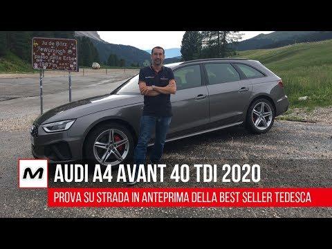 Audi A4 Avant 40 TDI 2020   Prova su strada in anteprima della rinnovata best seller
