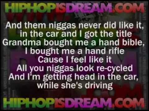 ▶ Fabolous ft  2 Chainz   When I Feel Like It LYRICS   YouTube