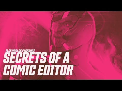 What Does a Comic Book Editor Do? | Elseworlds Exchange
