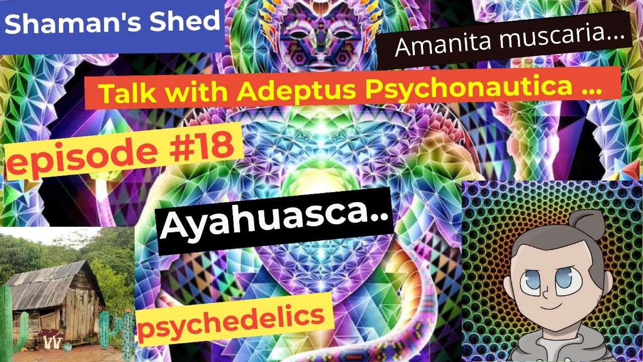 #18 Talk with Rob from @Adeptus Psychonautica | Ayahuasca | Amanita Muscaria | Ego death and more.