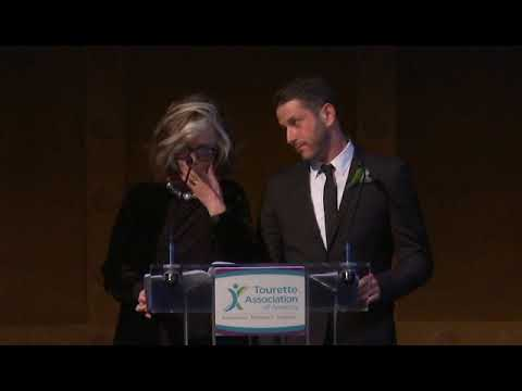 Sheila Nevins and David Koch at the 2017 Tourette Gala