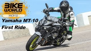 Yamaha MT-10 Review | First Ride