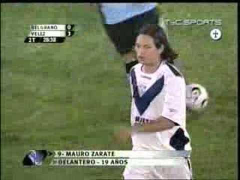 Mauro Zarate 2 gol a Belgrano