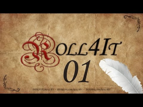DnD Roll4It #01 A NEW LAND - Dungeons and Dragons 5e