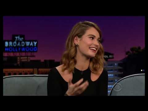 Lily James  Funny Moments III
