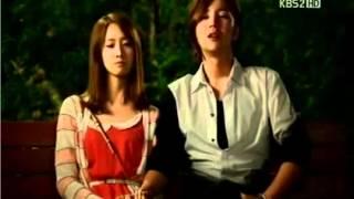 LOVE RAIN Jun & Hana share a romantic forehead kiss @Episode 18