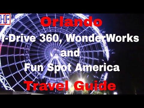 Orlando | I-Drive 360, WonderWorks and Fun Spot America | Travel Guide | Episode# 16