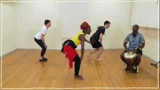 Five(ish) Minute Dance Lesson: African Dance: Lesson 2: Pelvic Isolation and Limb Throws