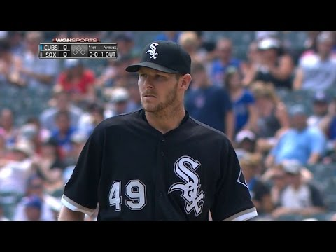 CHC@CWS: Sale ties career high with 15 strikeouts