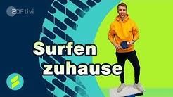 Surfen ohne Wasser - Die Sportmacher | ZDFtivi